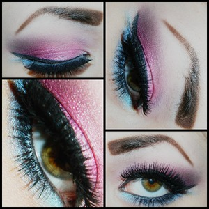 bhcosmetics mostly.(: my makeup usually matches my hair. <3