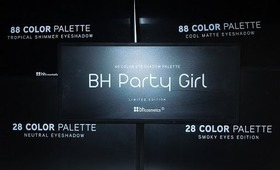 BH Cosmetics review on eye shadows pallets!