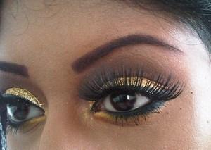 gold glitter!