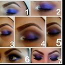 purple,white,brown,black