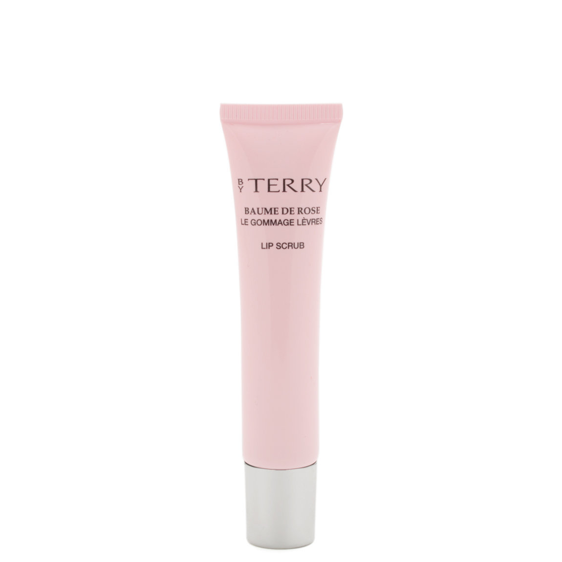 BY TERRY Baume de Rose Lip Scrub product smear.