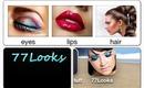 77Looks App - $77 Sephora Giftcard Giveaway