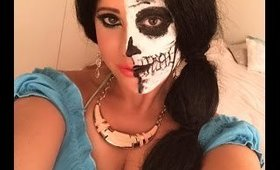 Jasmine Makeup Tutorial/Skull Look