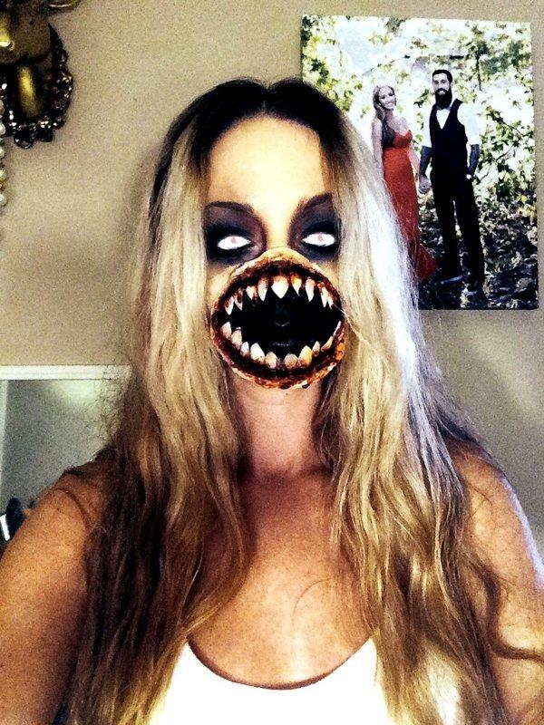 Alien Halloween Makeup | Kiss Me Dollface X.'s ... Halloween Makeup For Men