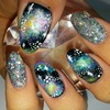 more galaxy nails