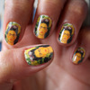 Frida Kahlo Nail Art Decals