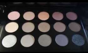 Mac Eye shadow Cool Neutral Palette X15 | #MakeupbyIRMITA