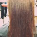 @tamarahmua hairstyles brazilian blowout cut color