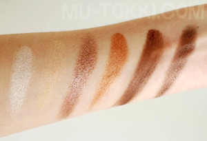 first six swatches | http://bit.ly/gGSWZM
