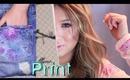 DIY Floral Print | Celine Logo, Pillow, Mouse Pad & Book? ♥