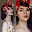 Flower freckles