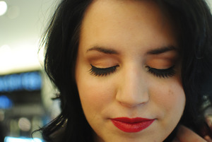 Makeover at Sephora <3 Lashes are Sephora's Glam Lashes