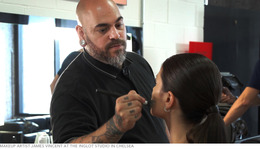 BEAUTYLISH New York Fashion Week Dispatch No. 1: James Vincent at Inglot Studios