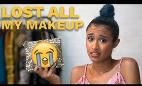 I LOST ALL MY MAKEUP! | DOING MY MAKEUP AFTER LOSING MY MAKEUP BAG OF ALL MY ESSENTIALS