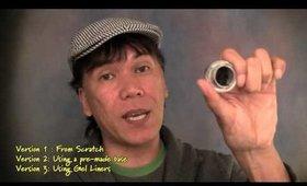 DIY: Homemade Eyeliner Pencil V1 - (From Scratch)