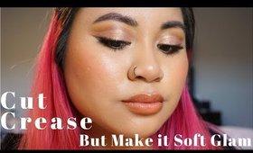 Cut Crease... But Make it Soft Glam | Victoria Briana