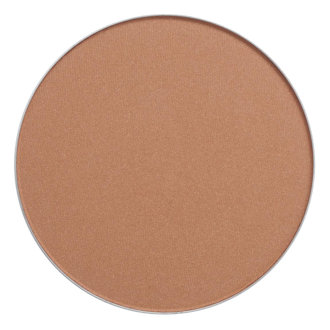 Inglot Cosmetics Freedom System AMC Bronzing Powder Round 75 product swatch.