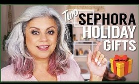 Sephora Holiday Gift Ideas and Holiday Makeup Tutorial For Mature Skin