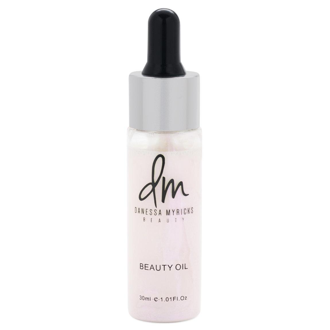 Danessa Myricks Beauty Love & Light Beauty Oil Eternal Flame product swatch.