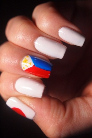 31 Day Nail Challenge: Inspired by a flag
