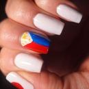 Japanese and Filipino Flag