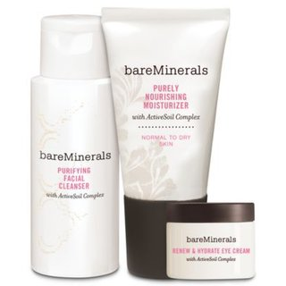 Bare Escentuals Daily Skin Renewing Trio - Normal to Dry Skin