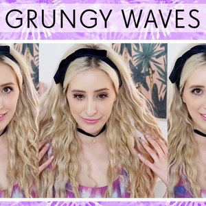 My '90s style grungy waves! Check out my tutorial for this look here: http://bit.ly/1n3Kht7
