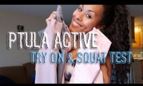 PTULA ACTIVE Reveal Haul!! | Try on & Squat Test