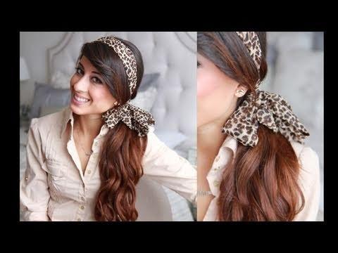 Prime Headband Ponytail Hairstyle Luxyhair Video Beautylish Hairstyle Inspiration Daily Dogsangcom