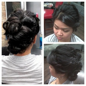 Bumble and bumble bridal upstyling workshop