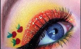 My Little Pony series: Applejack makeup tutorial