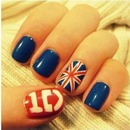 ONE DIRECTION NAILS💗