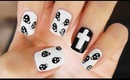 Trendy Skull Print Nails!!!