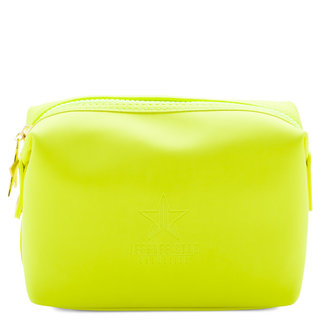 Neon Velour Makeup Bag