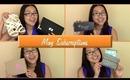 ♥May Subscriptions (LATE) | JustFab, Julep Maven, Birchbox, ipsy♥