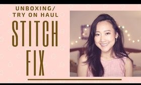 Stitch Fix Unboxing/Try On Haul⎮Fashion