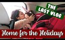 THE LAST VLOG | Home for the Holidays | Briddy Nicole