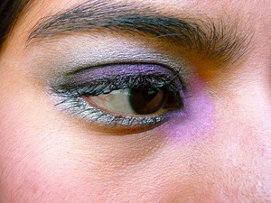 Purple and Silver Cut Crease Look 1.2