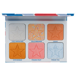 Jeffree Star Cosmetics Skin Frost Pro Palette Brain Freeze