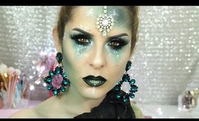 Halloween Makeup Tutorial   Mistica Glam
