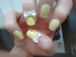 *Not Gel/Acrylic, Done On My Natural Nails*