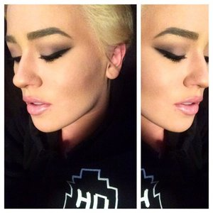 Also used: Smashbox Master Palette 3,  NYX lip pencil in Pinky Beige and MUFE Lip Pencil in C14