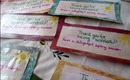 """Kindness: """"Just Because"""" Thank You Notes   RebeccaKelsey.com"""