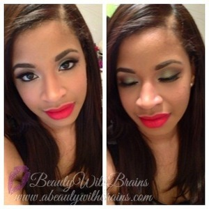 more photos in my blog post: http://www.abeautywithbrains.com/2013/04/spring-fling-fotd.html
