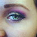Gilded Purple Smoke