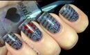Love Letter! Konad nail art tutorial - Stamping nail design Image plate & nail polish and konad kit