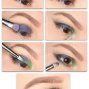 Colorful smorey eyes