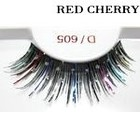 Red Cherry Shimmer & Feather Lashes - D605