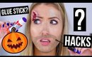 Pinterest BEAUTY HACKS Tested || HALLOWEEN Edition!