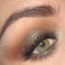 Fall makeup : Warm brown smoky